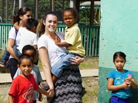 Delaney Teaches Children in Nicaragua and Belize